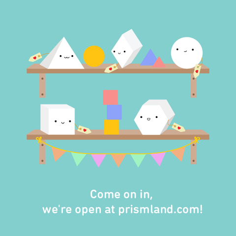 The Prismland Store is open for business!