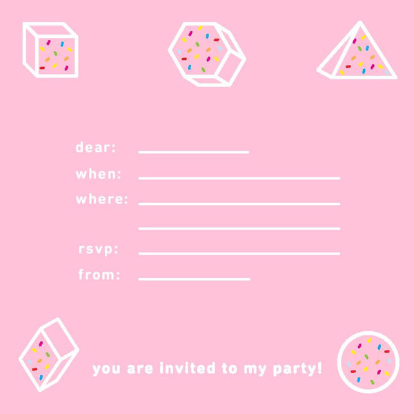 Prismland Party Invitation - Prismland