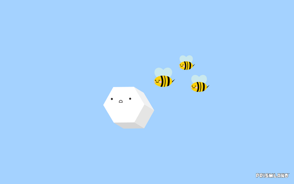 Hexter and Bees (Desktop) - Prismland