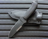Winkler II S.A.R. with Micarta Handle and Black KG Finish