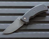 Winkler II F1B Carbon Fiber Folding Knife