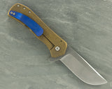 Doc Shiffer Field Grade Recon w/Bronze Titanium & Blue backspacer