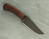 Winkler II Belt Knife with Maple Handle and Caswell Finish
