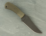 Winkler II Belt Knife with Green Micarta Handle and Caswell Finish