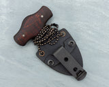 Winkler II Push Dagger with Maple handle and caswell finish