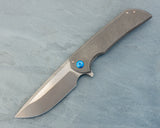 Ferrum Forge Mordax - Plain, Blue Hardware