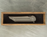 Jake Hoback Knives Kwaiback Mk4 Frame Lock Knife