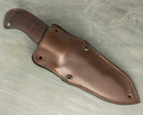 Winkler II Utility Knife with Curly Maple Handle and Caswell Finish