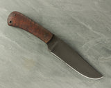 Winkler II Field Knife with Maple Handle and Caswell Finish