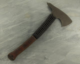 Winkler II Legacy Axe w/Maple Handle, Black paracord wrap & Caswell no-glare finish