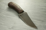 Winkler II Crusher Belt Knife w/Maple handle and Caswell Finish