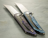 Jake Hoback - Carbon Fiber Kwaiback with Anodized Titanium Back