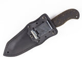 Winkler II Utility Knife with Rubber Handle and Caswell Finish