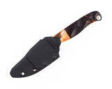 Half Face Blades - Crow Scout Junior w/Copper Bolster, Dark Burlwood & Copper liner