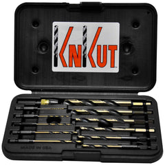 "KnKut 12pc 1/4"" Hex Shank Quick Release Drill Bit Set"