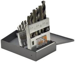 KnKut 18 Piece National Fine Tap & Drill Bit Set
