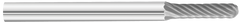 "KnKut SC-41 Cylindrical Ball Nose Carbide Burr 3/32"" x 7/16"" x 1-1/2"" OAL with 1/8"" Shank"