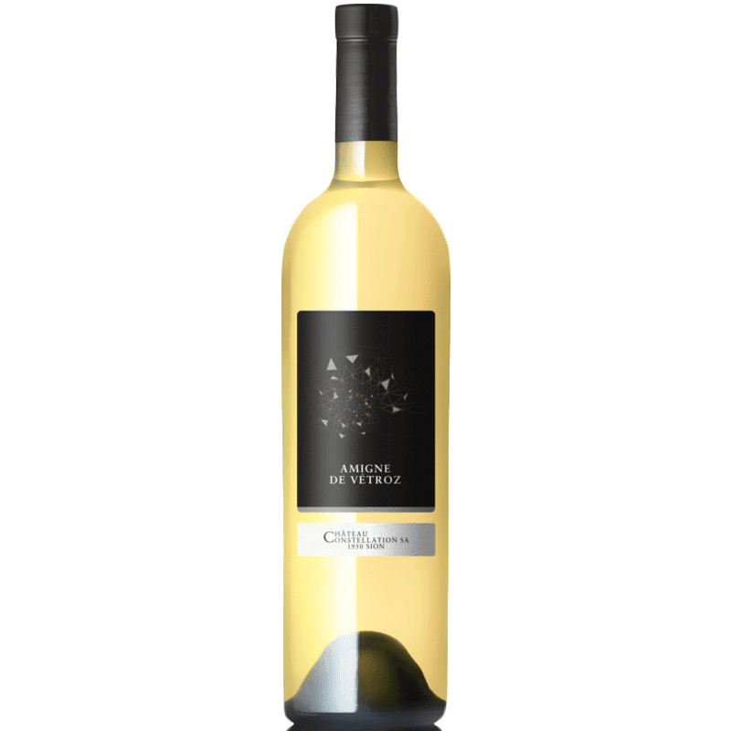 CHATEAU CONSTELLATION Vino Bianco 2013 - 75 cl Amigne De Vetroz AOC (1330461507695)