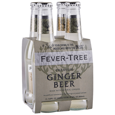 FEVER TREE Tonica Fever-Tree Ginger Beer Tonic Water