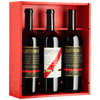 SWISS PREMIUM WINE Collection 2 bottigie di vino e 1 grappa da 75cl Quattromani Collection (2144893763695)