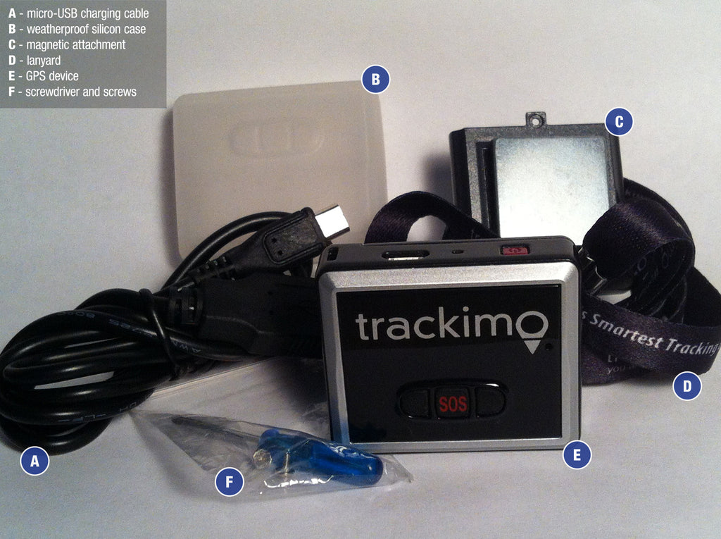 Trackimo Packing unit