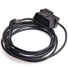 Trackimo OBD to Micro USB Cable for GPS Tracker