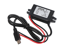 Waterproof car power converter for Trackimo