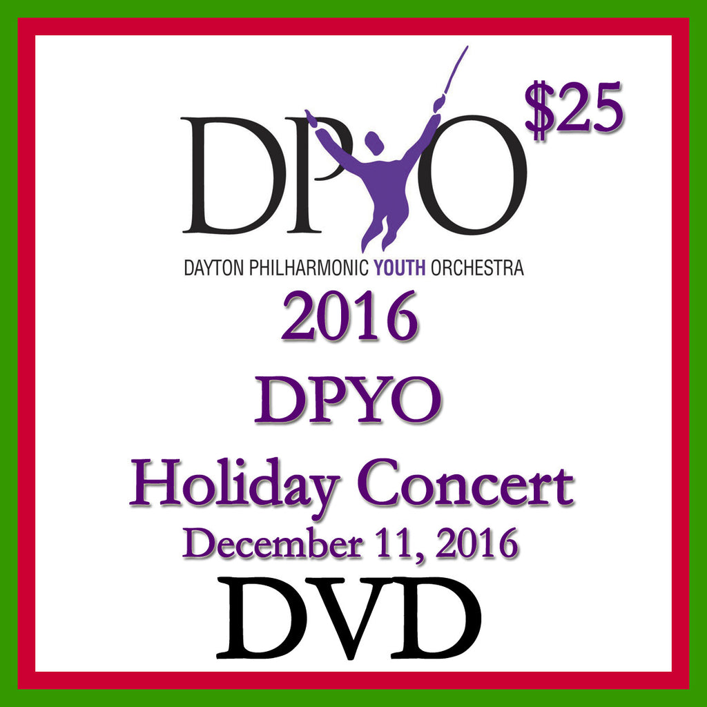 2016 DPYO Holiday Concert Video DVD