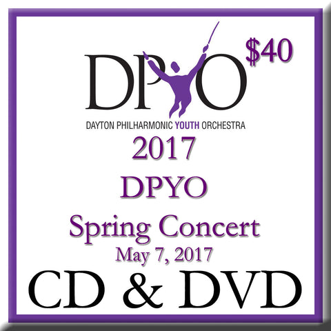2017 DPYO Spring Concert CD + DVD 2-Disk Set