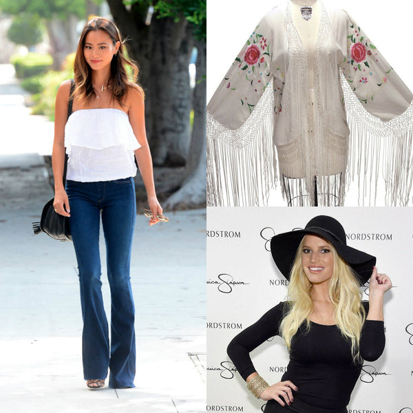How to Mix Flare Jeans with our Vintage Items