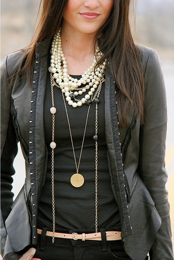 The Love of Necklace Layering
