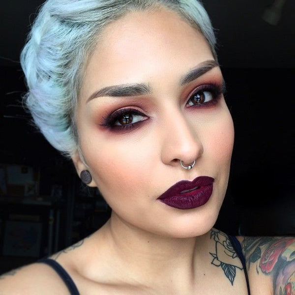 The Vault Tagged Black The Deco Haus: From A 1920s Makeup Look, To Trendy Dark Lipstick