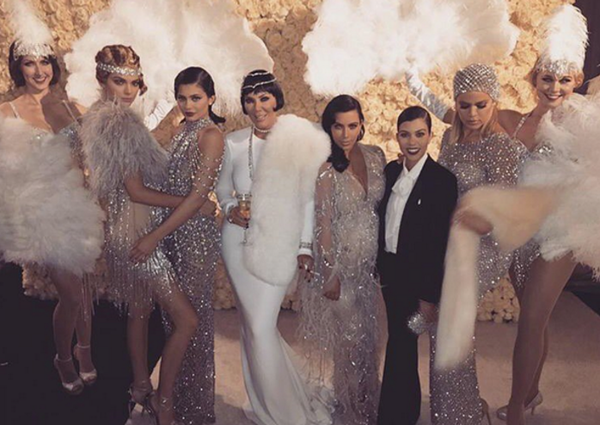 Kris Jenner's Gatsby Themed Party