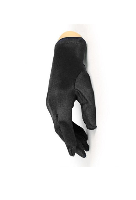 The Satin Vintage Ultra Driving Glove - Ebony Black - The Deco Haus