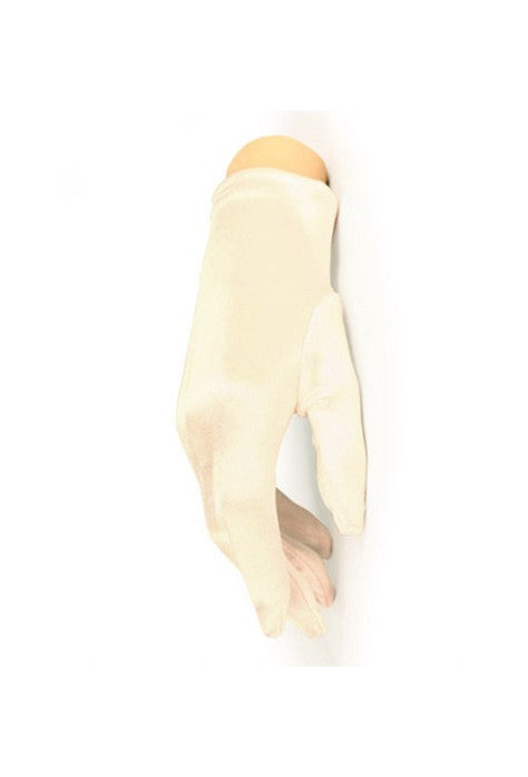 The Satin Vintage Ultra Driving Glove - Ivory White - The Deco Haus