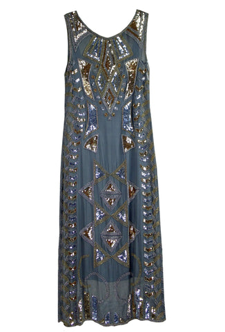 The Egyptian Deco Gown