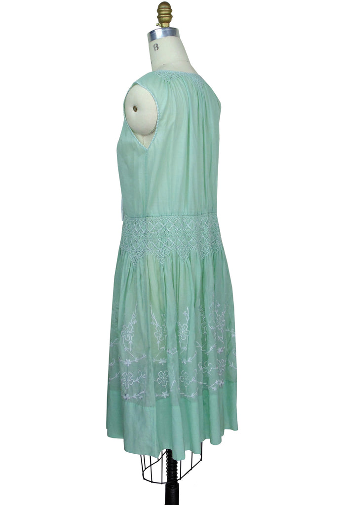 The Keepsake Dress - Nile Green
