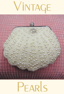Romantic Cluster Pearl Vintage-Inspired Gatsby Wedding Purse - The Deco Haus