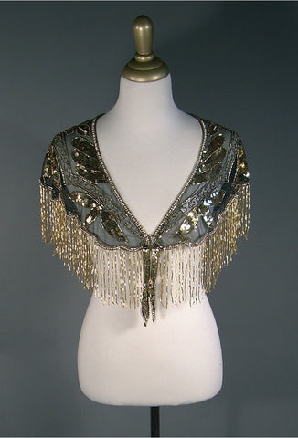 The Zelda Capelet - Gold on Jet