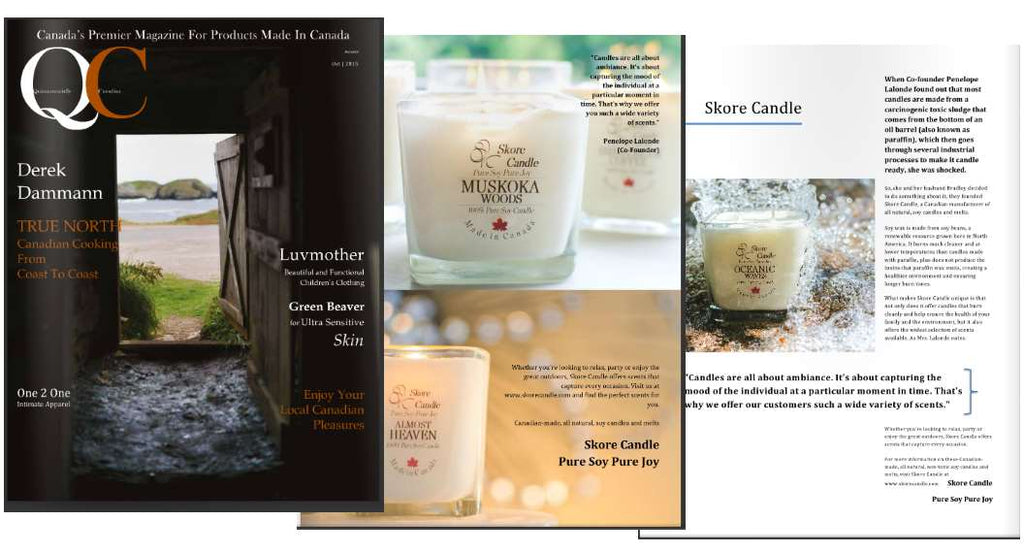 QC Magazine Skore Candle Feature