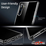 CASE PARA SAMSUNG GALAXY NOTE 10 ESSENTIAL SLIM CLEAR SOFT TPU TRANSPARENTE