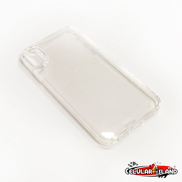 CASE SLIM TRANSPARENTE PARA IPHONE X MAX