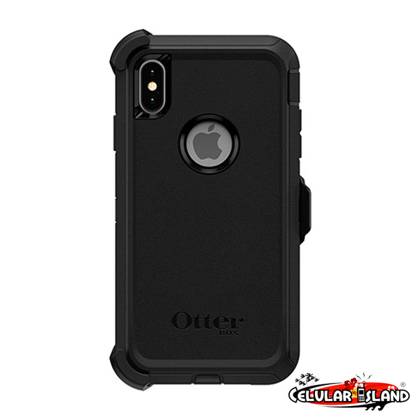 Defender Series Screenless Edition Case para iPhone Xs Max Negro