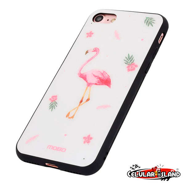 PROTECTOR DESIGN COLLECTION FLAMINGO IPHONE 8/7