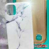 CASE MARMOL BLANCO PARA IPHONE 11