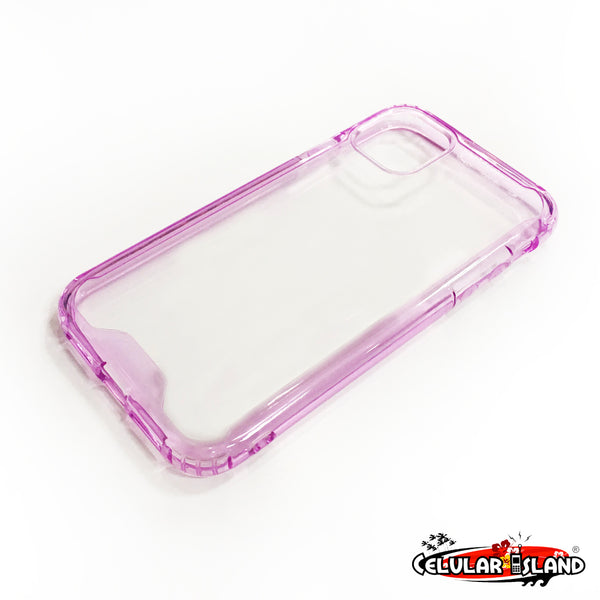 COVER CLEAR CON BORDE PARA IPHONE 11
