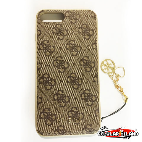 Case con logo GUESS para iPhone 8 Plus
