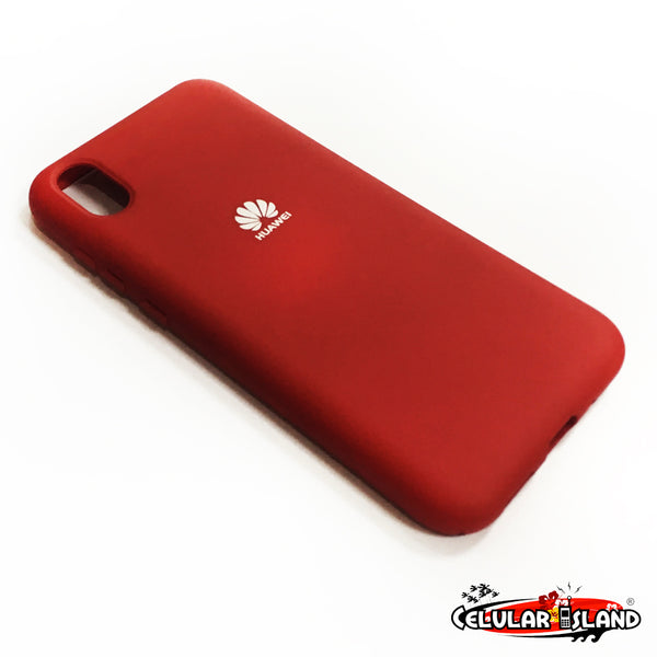 PROTECTOR DE SILICÓN SILKY AND SOFT-TOUCH FINISH PARA HUAWEI Y5 2019