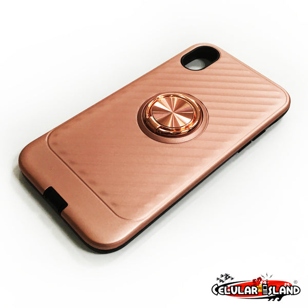 RING CASE PARA IPHONE 6, 7 PLUS, XS MAX y XR
