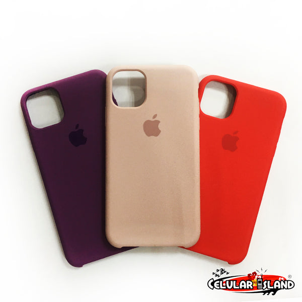 CASE SILICÓN PARA IPHONE 11, IPHONE 11 PRO, IPHONE PRO MAX